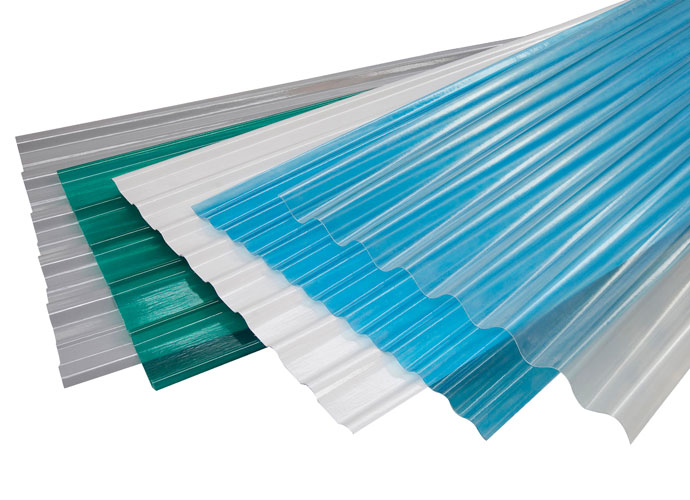 GRP colored sheets