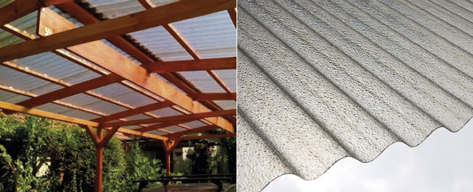 Elyclear - grp translucent roof sheets